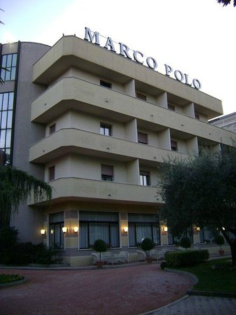 Marco Polo Terme: Facciata hotel