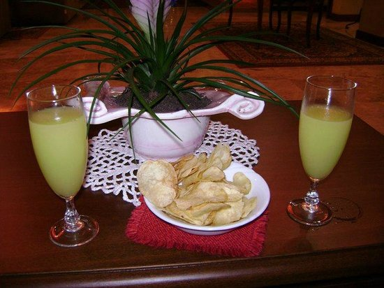 Marco Polo Terme: aperitivo in albergo