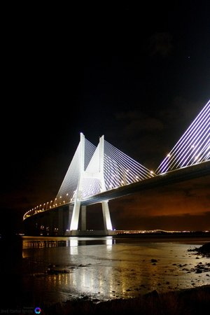 Vasco da Gama Bridge : Noite