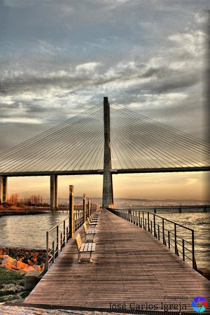 Vasco da Gama Bridge: Madrugada