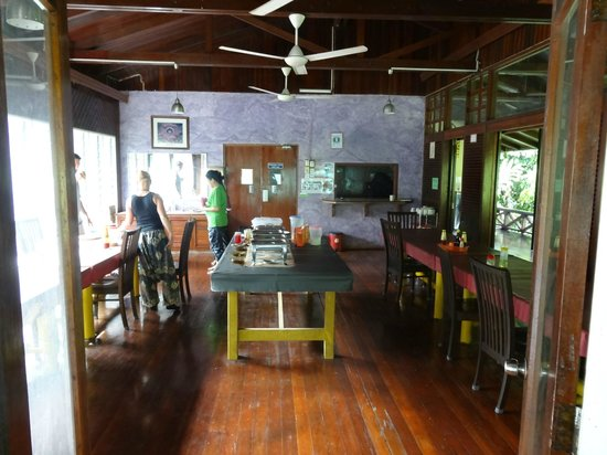 Danum Valley Field Center: Dining room