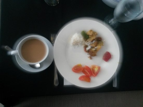 The Picasso Boutique Serviced Residences: light breakfast