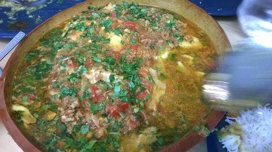 TUNTUN's Cafe: Fish curry