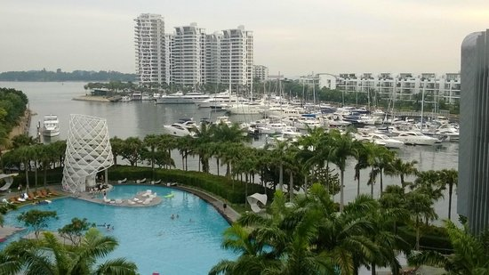 W Singapore Sentosa Cove: View from my room @ W Singapore