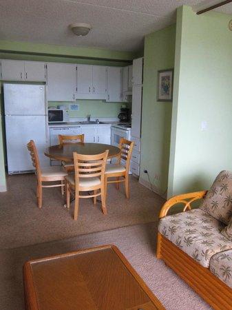 Royal Kuhio Resort : キッチンも使いやすかった