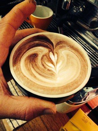 Up Beet Juice & Espresso : Nice!!
