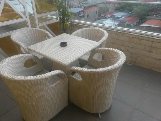 Goldberry Suites & Hotel: balcony