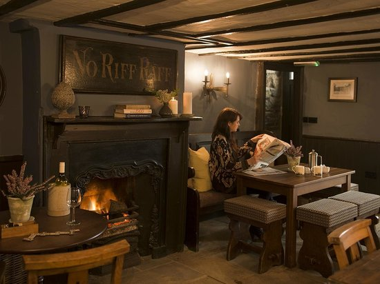 Lord Crewe Arms Blanchland The Derwent Room Restaurant Bishops Dining Church Crypt Bar