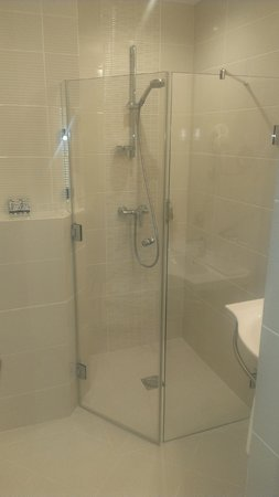 Hotel Coroana De Aur: My room had a beautiful shower