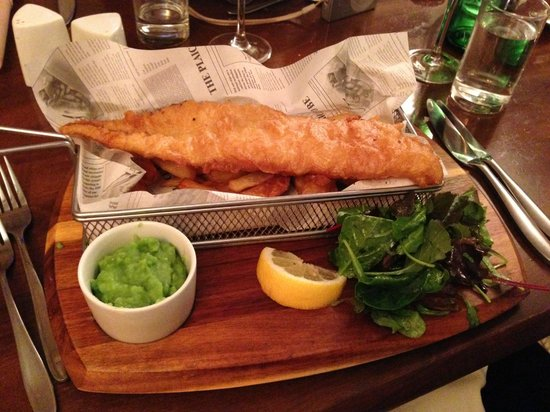 The Black Cow: Fish and Chips