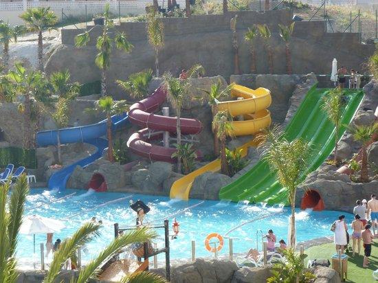 Hotel Los Patos Park: Slides