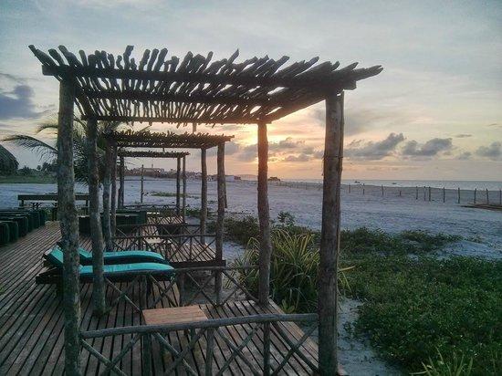 Rancho do Peixe: Beach bar