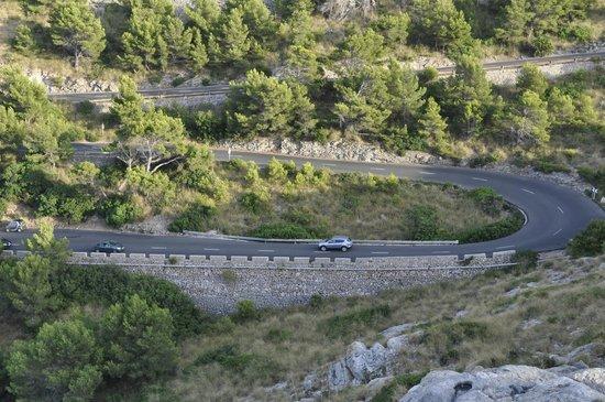 Cap de Formentor: Дорога