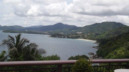 Sabai Corner: depuis la terrasse