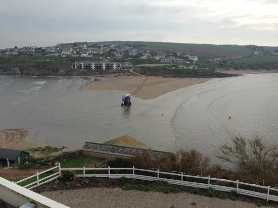 Burgh Island Hotel: Sea tractor - your carriage awaits you
