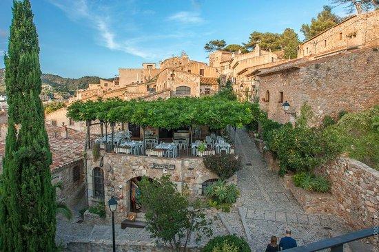 Castillo de Tossa de Mar: Вид с крепостной стены