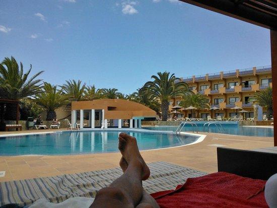KN Matas Blancas : Descanso en la piscina