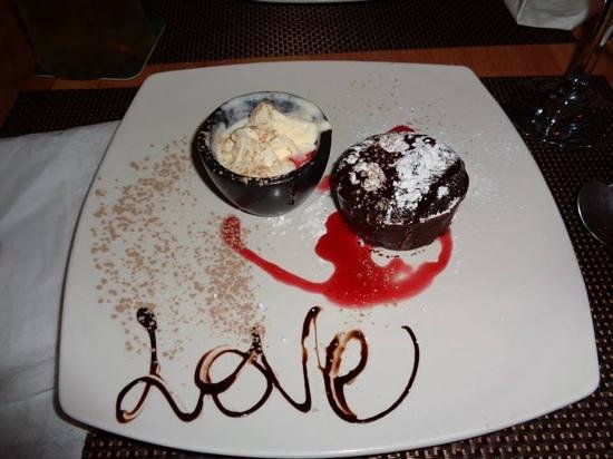 First Love : chocolate fondant