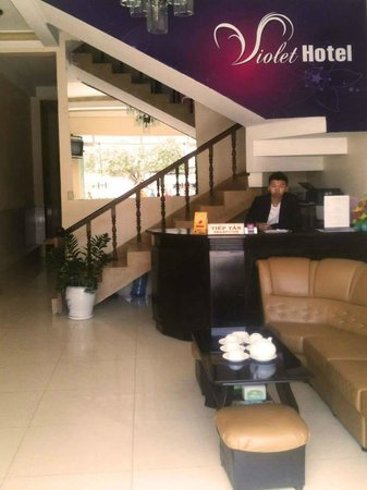 Violet Bui Thi Xuan Hotel: Reception Area