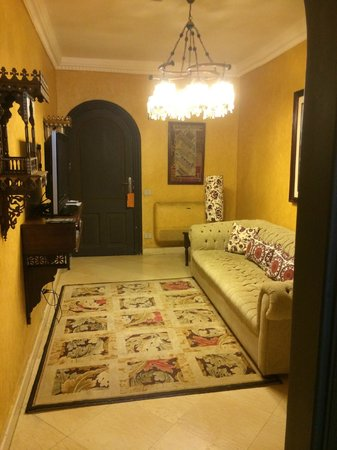 Le Riad Hotel de charme: Part of my suite