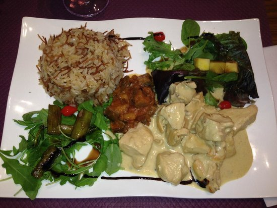 Petit Ogre : Chicken curry