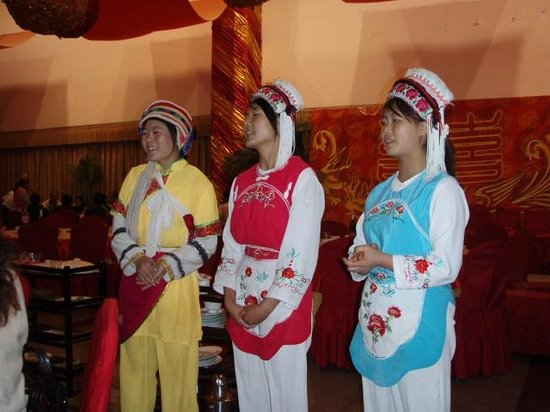 Yunan County, China: Young Girls of Bai Nationality