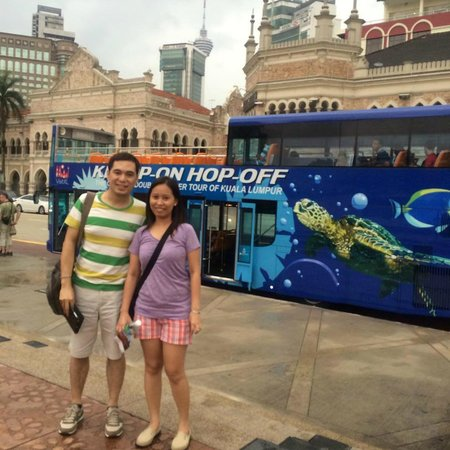 Hop on Hop Off Bus Kuala Lumpur : Merdeka Square