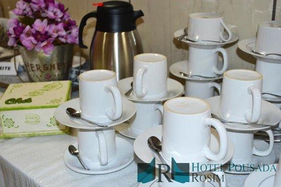 Hotel Pousada Rosim: Café da Manhã