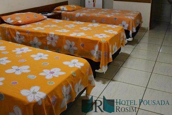 Hotel Pousada Rosim: Quarto