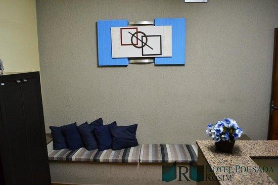 Hotel Pousada Rosim: Recepção