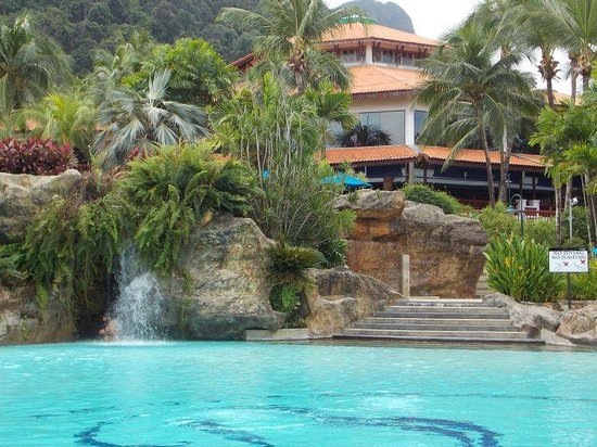 Berjaya Langkawi Resort - Malaysia : Main Resort building from behind