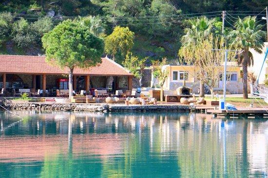 Cennet Marine Yacht Club: Our restaurant
