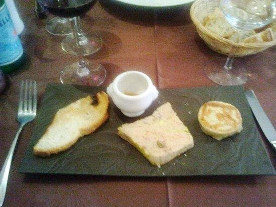 La fleur de sel : foie gras mangue