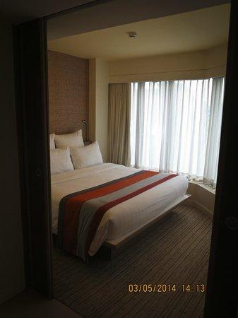 Pullman Pattaya Hotel G: ห้องนอน