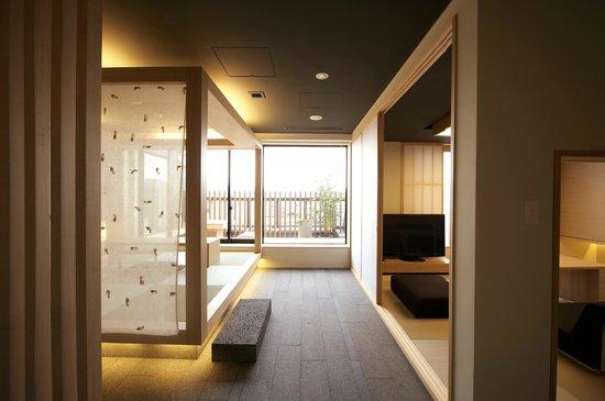 Hotel Kanra Kyoto: スィートルーム