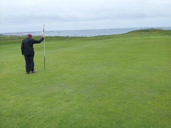 Connemara Championship Links: Green on par 3 6th
