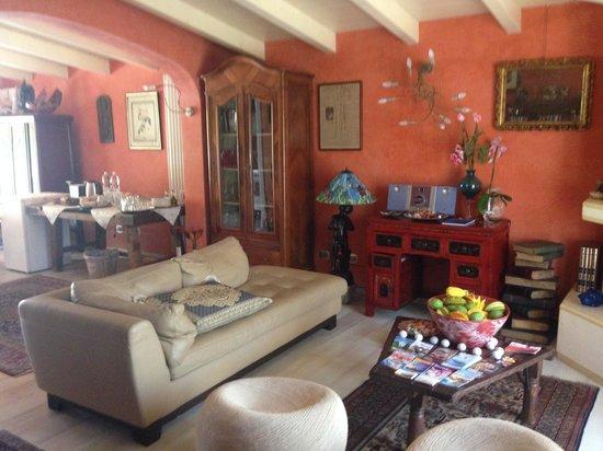 Villa Rosa Camuna: Soggiorno