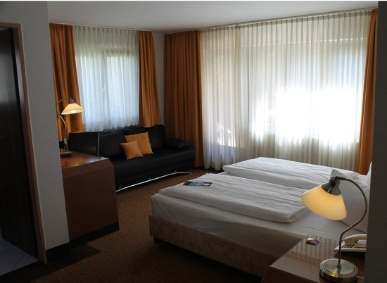 Flora Hotel Möhringen: Doppelzimmer