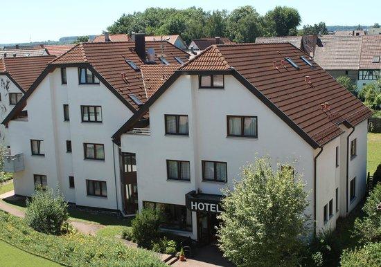 Flora Hotel Möhringen: Außenansicht