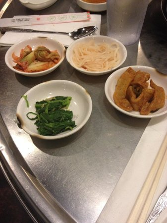 Honey Pig : side dishes