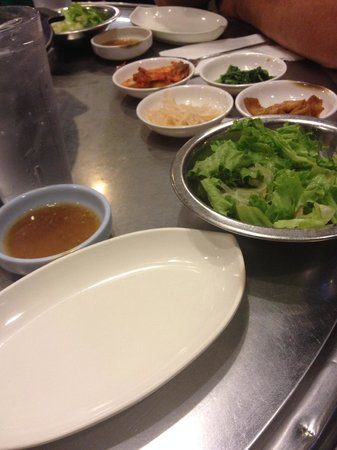 Honey Pig : Salad and toppings