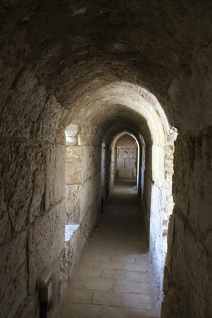 Tower of David Museum: Tunnel
