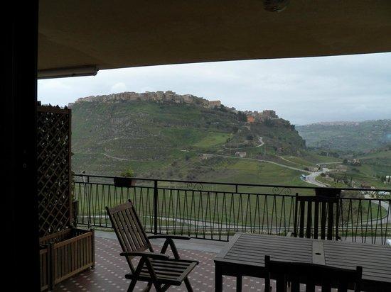 Val di Kam: Uitzicht op stadje