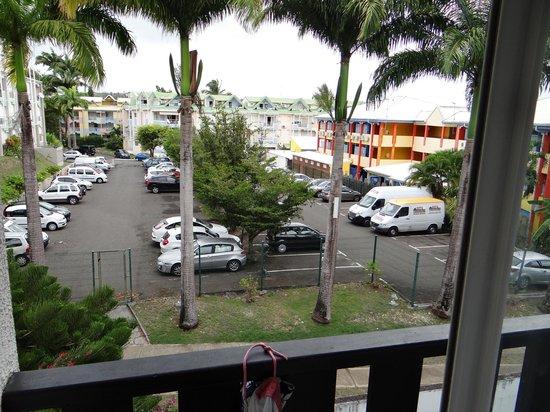 La Creole Beach Hotel: Vue Jardin!