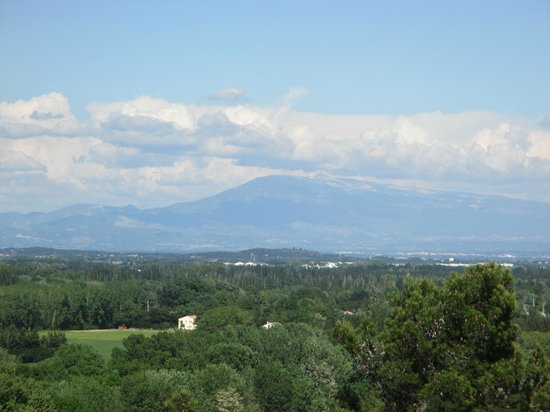Rocher des Doms: Mont Ventoux in the distance
