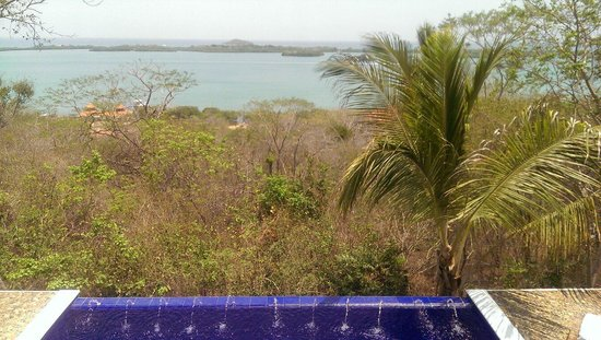 Agua Bed & Breakfast - Baru Island: View from the pool area by the Casita