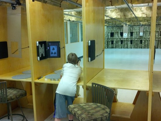 New England Airgun - Indoor Shooting Range