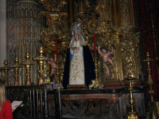 Iglesia Colegial del Salvador : san salvador