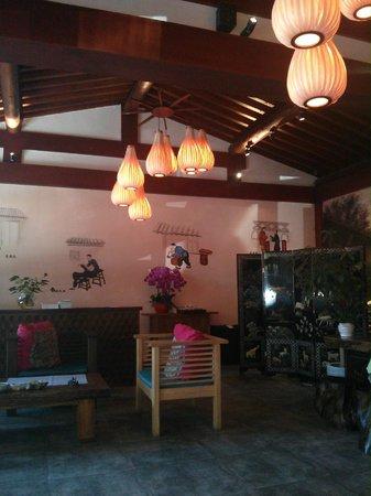 Red Wall Garden Hotel: Reception