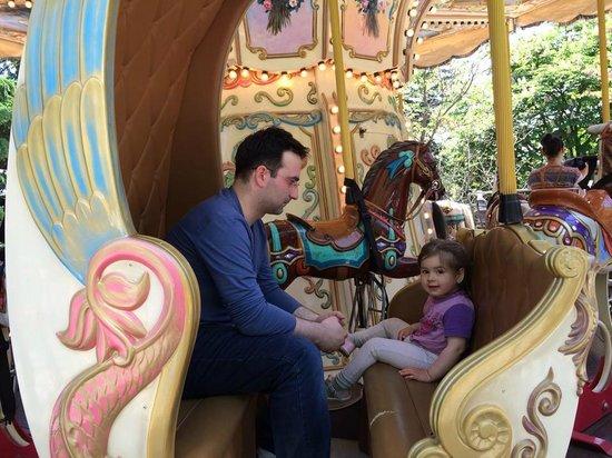 Mtatsminda Amusement Park: одна из каруселей